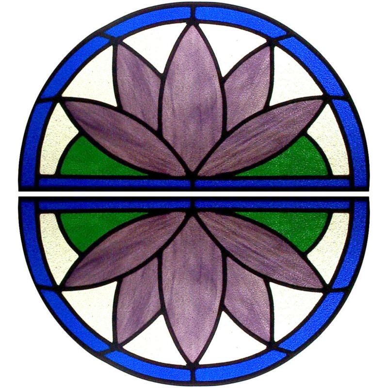 Stained Glass Water Lilly